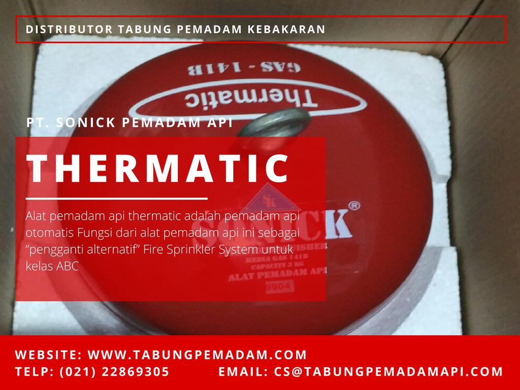 Distributor Jual Alat Pemadam Api Otomatis Thermatic System