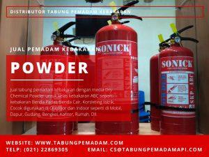 Jual Alat Pemadam Api Ringan Murah Powder