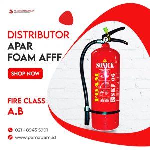 Supplier dan Distributor Alat Pemadam Api Jual Apar Foam AFFF